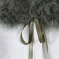 Preview: EYES ON MISHA feather collar La Fiffi army green