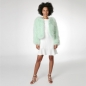 Preview: EYES ON MISHA Bolero Jacke aus Federn La Fiffi mint
