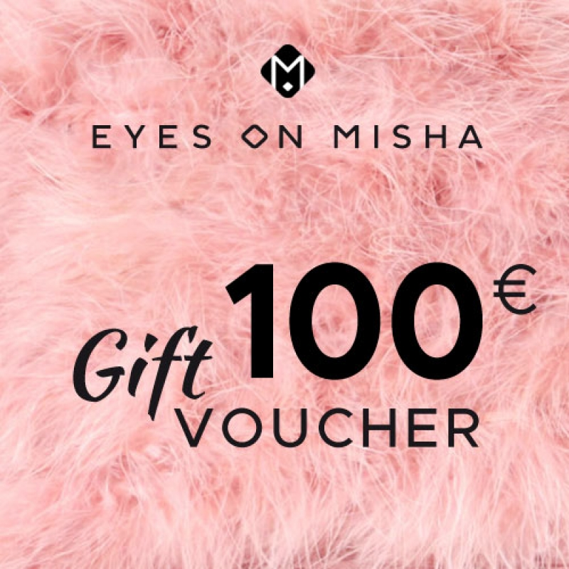 EYES ON MISHA Gift Card 100 EUR