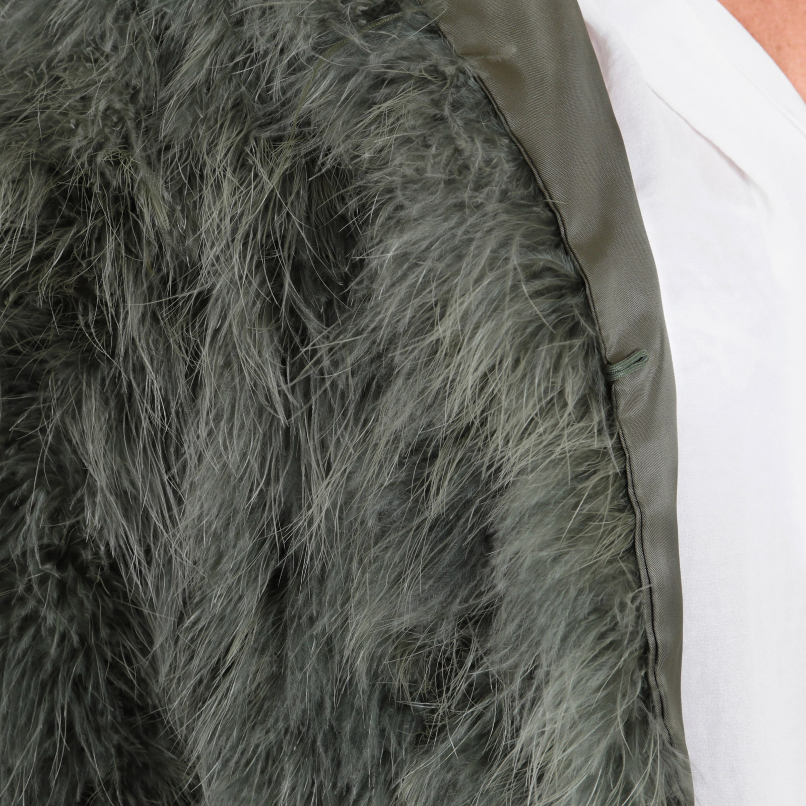 Fashion Aus Furry Misha Federn Eyes Mantel Fiffi On La Ygvf6Ib7y
